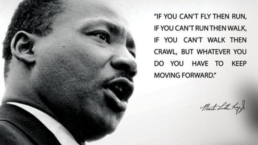 Dr. Martin Luther King Jr. Day (No School)