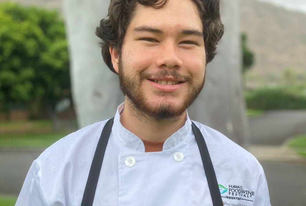 HKM STUDENT HONORED AT 2020 FOOD & WINE FESTIVAL